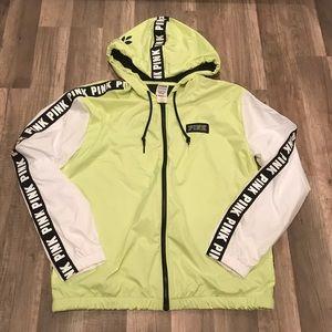 Rare Chartreuse Full Zip Anorak